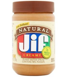 Beurre de cacahouète JIF natural