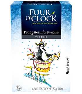 THÉ FOUR O'CLOCK – PETIT GÂTEAU FORÊT-NOIRE