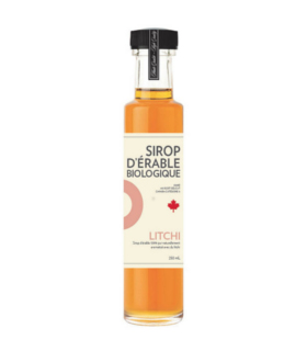 Sirop d'érable iSens biologique - litchi