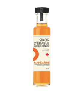 Sirop d'érable iSens biologique - mandarine