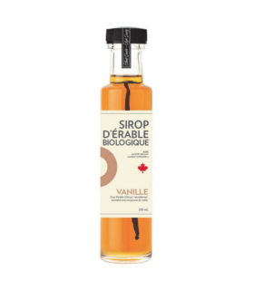 Sirop d'érable iSens biologique - vanille