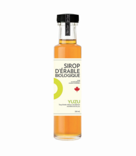 Sirop d'érable iSens biologique - yuzu