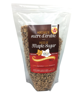 Morceau de sucre d'érable