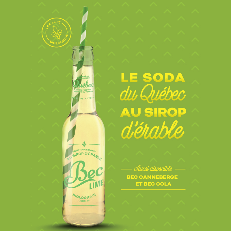 Bec Cola Lime en France