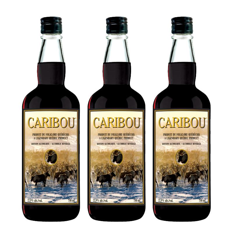 Caribou x3