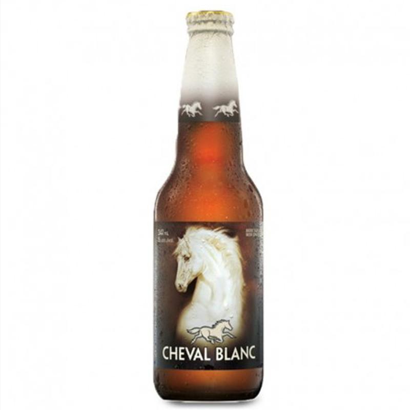 Bière cheval blanc