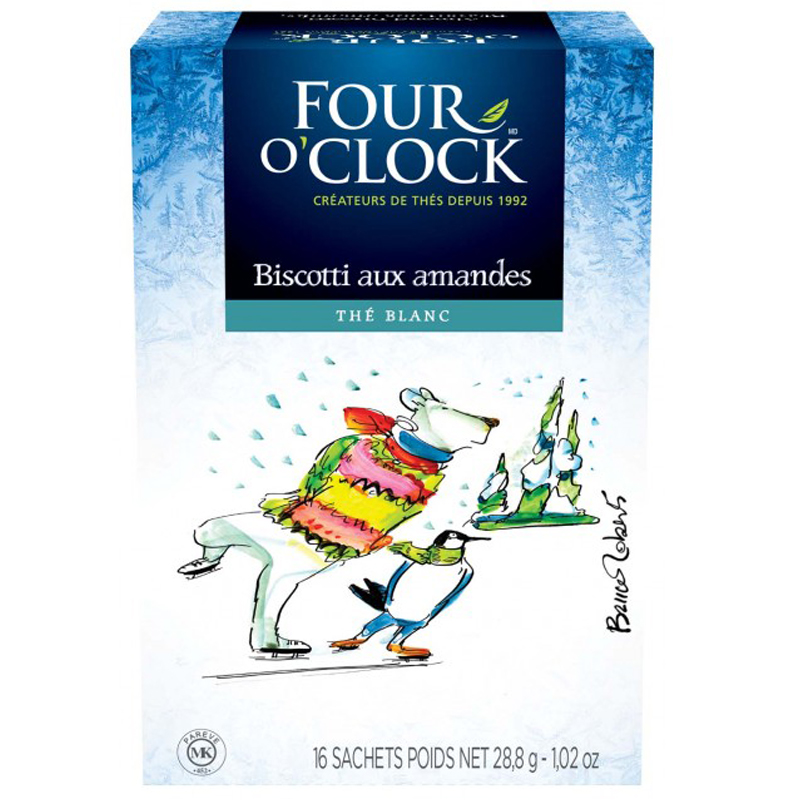 Thé Four O'Clock - Biscotti aux Amandes