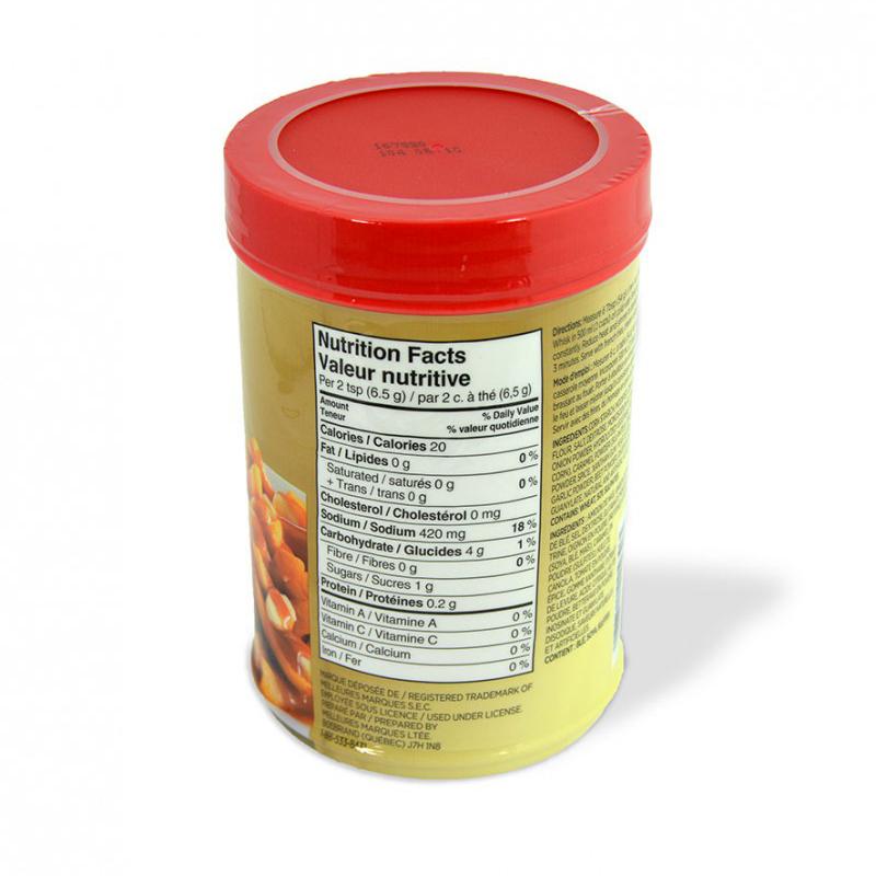Sauce poutine Loney's - Valeur nutritive