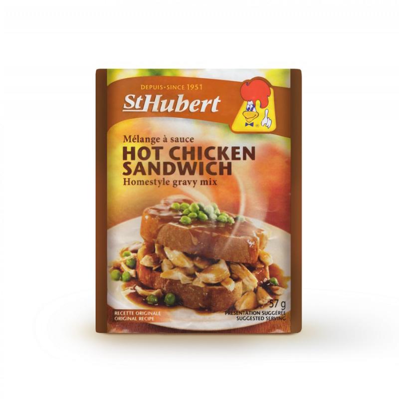 Sauce Hot Chicken Sandwich St-Hubert