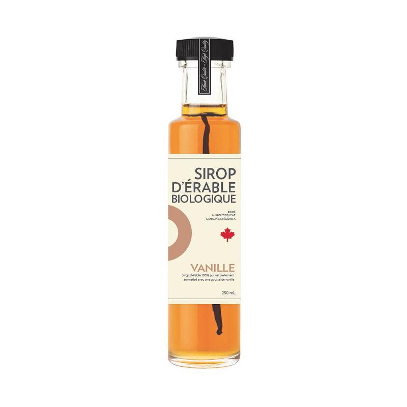 Sirop d'érable iSens biologique - vanille