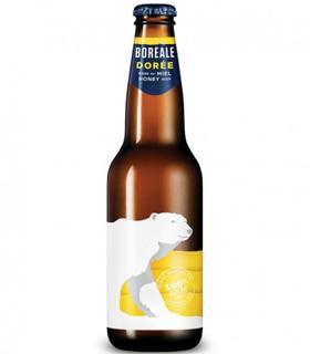 Bière Boréale dorée