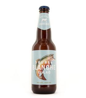 Bière Boréale double blanche du lac