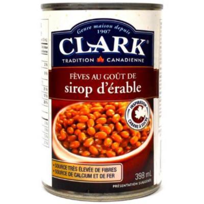 Haricots au sirop d'érable Clark