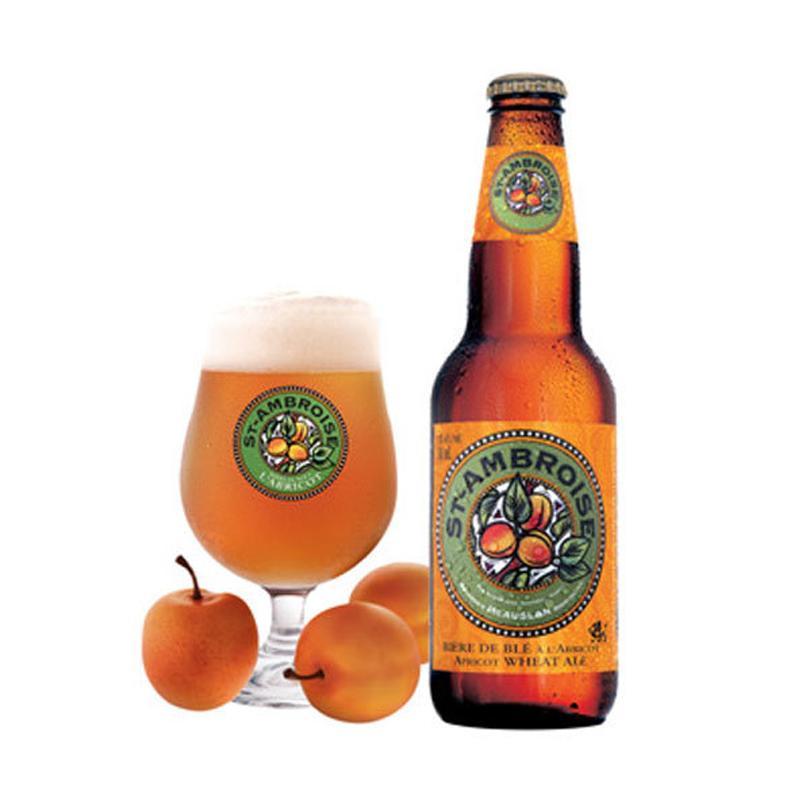 f2fc55ac1cf573 St-Ambroise Abricot | Bière canadienne -20% en France